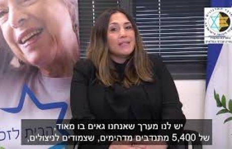 """מיצוי זכויות – מנהלת הרשות לזכויות ניצולי השואה – עו""""ד גליה מאיר אריכא"""