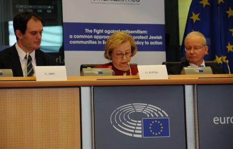 קולט אביטל בכנס בינלאומי באיחוד האירופי – 6-7/2/2019
